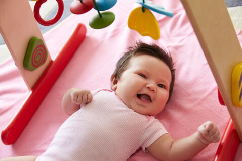 Tips for Life With Your Healthy 11 Week Old Baby